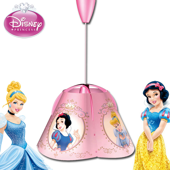 disney princess kinderlampe h ngelampe kinderlampe h ngelampe deckenlampe lampe ebay. Black Bedroom Furniture Sets. Home Design Ideas
