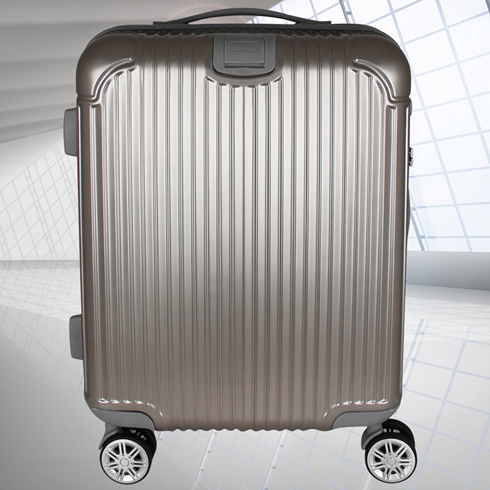 trolley abs tas schloss handgep ck boardcase gep ck koffer reise reisekoffer 40l ebay. Black Bedroom Furniture Sets. Home Design Ideas