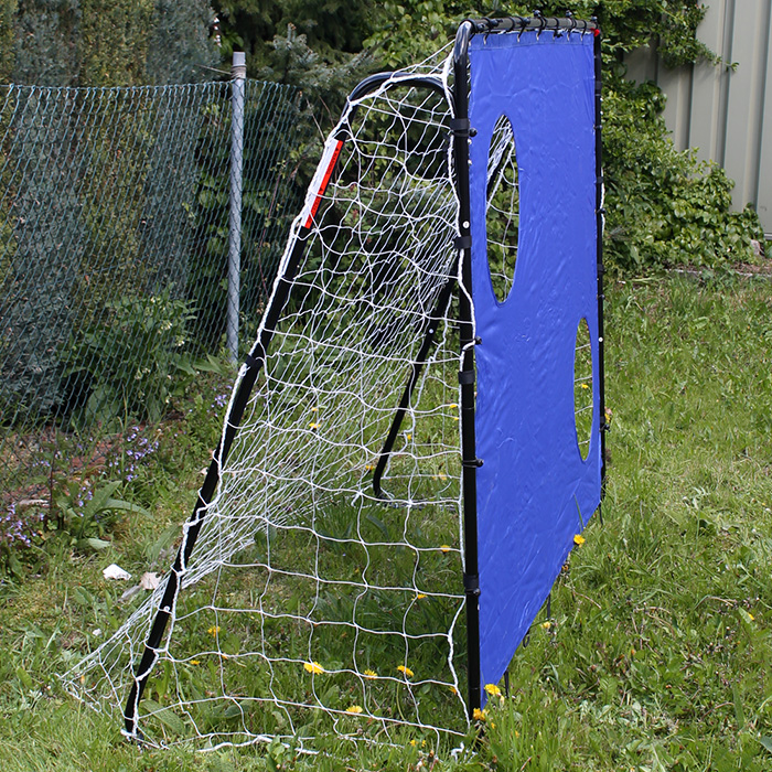fu balltor torwand fussballtor fu ball tor netz soccer garten 213x152 neu ebay. Black Bedroom Furniture Sets. Home Design Ideas