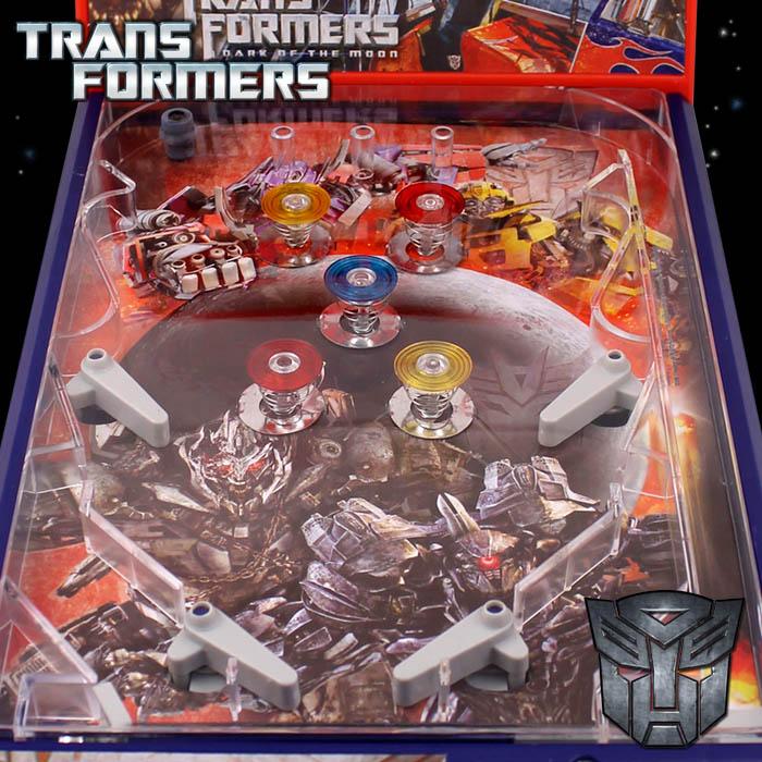 Transformers tischflipper spielzeug spielautomat flipper