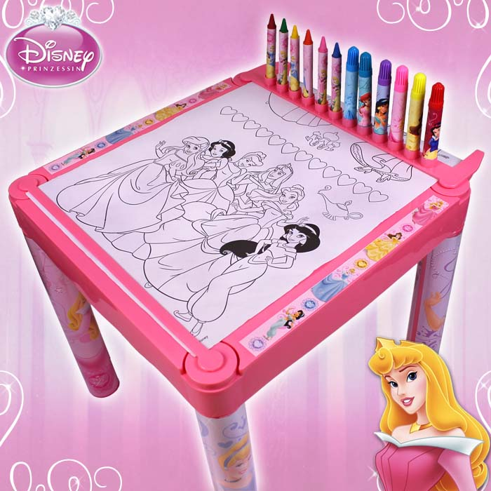 disney princess kinder maltisch kindermaltisch tisch malset f r kinder maltische ebay. Black Bedroom Furniture Sets. Home Design Ideas