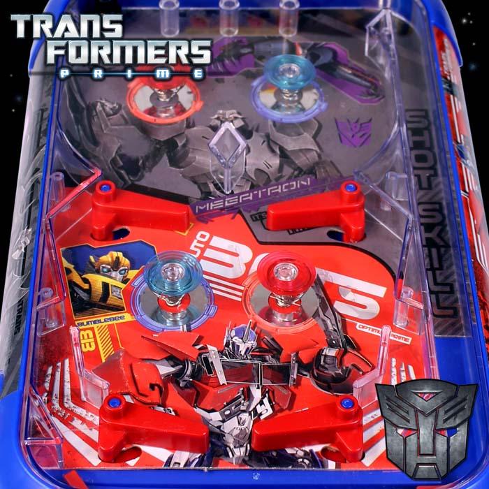 Transformer spielzeug spielautomat flipper pinball