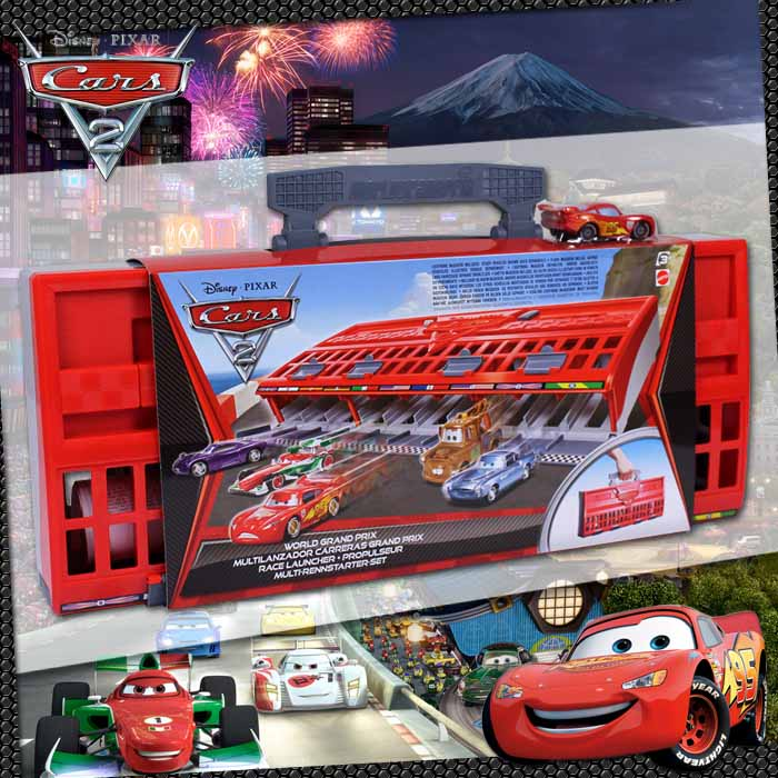 Disney cars world grand prix car pixar