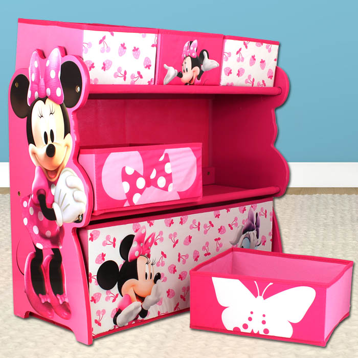aufbewahrungsregal disney minnie mouse regal. Black Bedroom Furniture Sets. Home Design Ideas