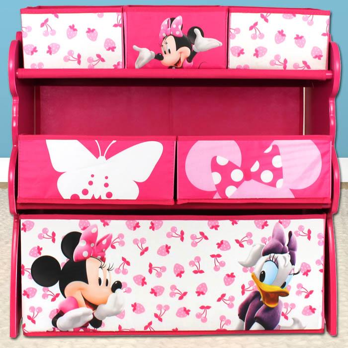 aufbewahrungsregal disney minnie mouse regal spielzeugkiste ... - Minnie Mouse Kinderzimmer Deko