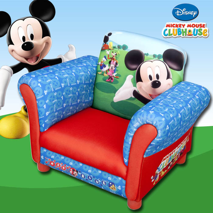 kindersessel disney mickey sessel m bel kinder sofa kindersofa kindercouch couch ebay. Black Bedroom Furniture Sets. Home Design Ideas