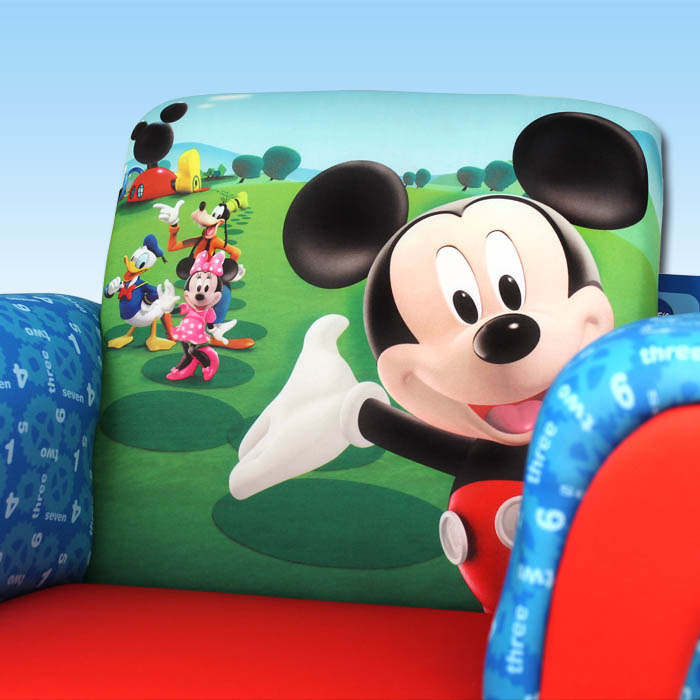 kindersessel disney mickey sessel m bel kinder sofa. Black Bedroom Furniture Sets. Home Design Ideas