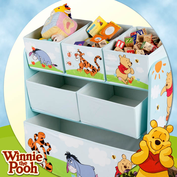 disney winnie the pooh kinder aufbewahrungsbox spielzeugkiste spielzeugbox. Black Bedroom Furniture Sets. Home Design Ideas