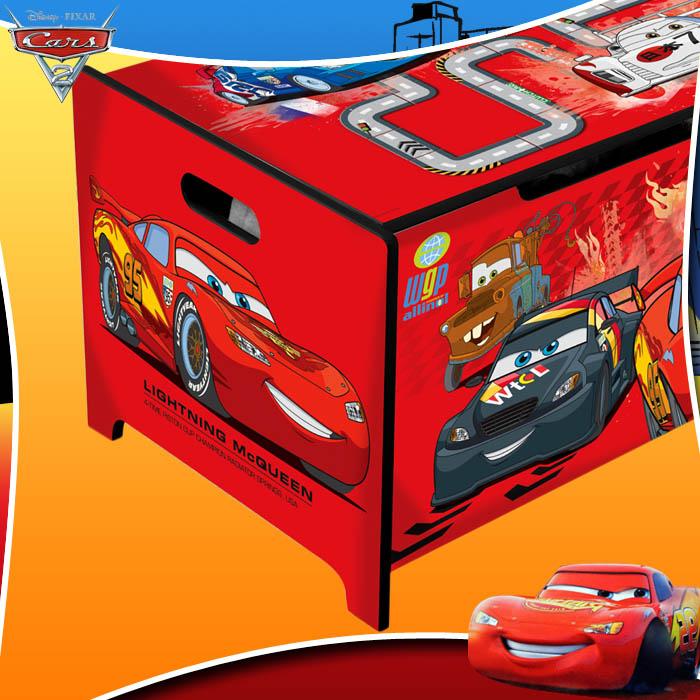 Disney cars kinder truhe sitzbank spielzeugkiste bank