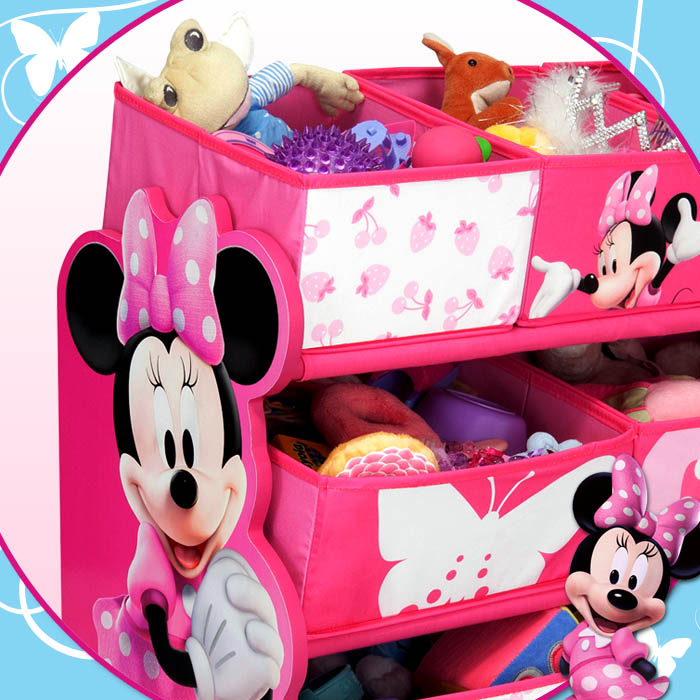 disney minnie mouse aufbewahrungsregal regal. Black Bedroom Furniture Sets. Home Design Ideas