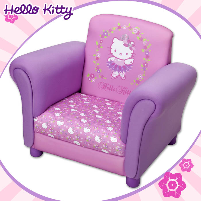 hello kitty kindersessel sessel m bel kinder kindersofa. Black Bedroom Furniture Sets. Home Design Ideas