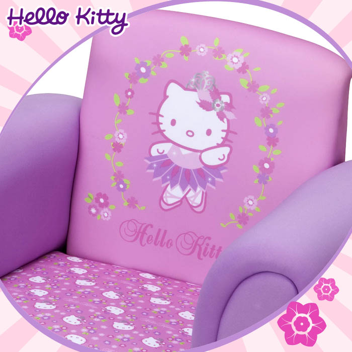 hello kitty kindersessel sessel m bel kinder kindersofa. Black Bedroom Furniture Sets. Home Design Ideas