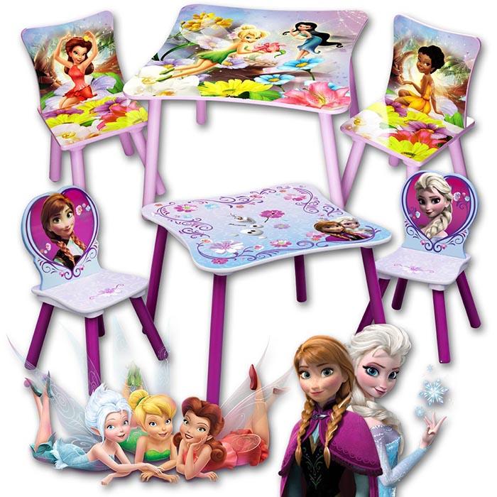 Disney kindersitzgruppe kinderzimmer kinderst hle - Disney kinderzimmer ...