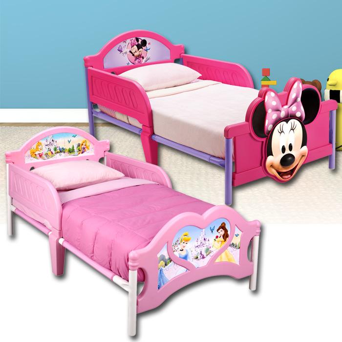 disney kinderbett kinder bett kinderm bel jugendbett minnie mickey cars 140x70 ebay. Black Bedroom Furniture Sets. Home Design Ideas