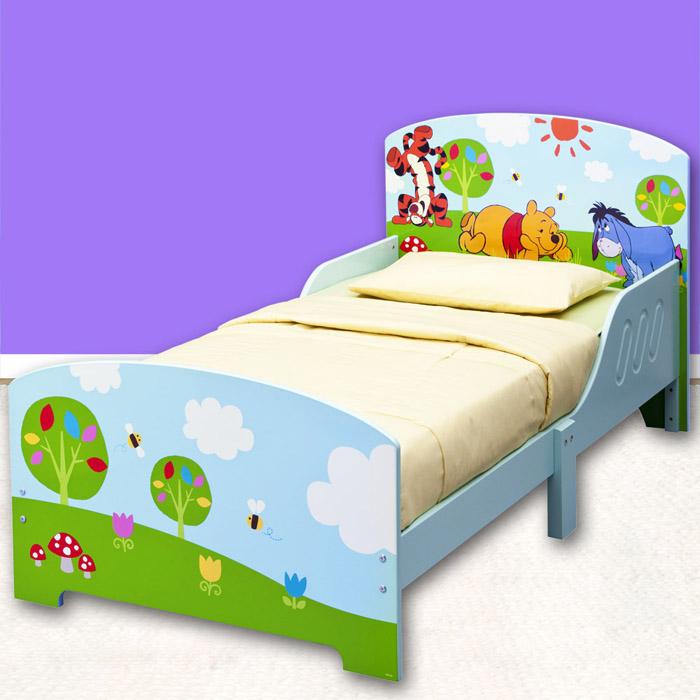 disney holz kinderbett kinder bett kinderm bel jugendbett minnie cars 140x70 neu ebay. Black Bedroom Furniture Sets. Home Design Ideas