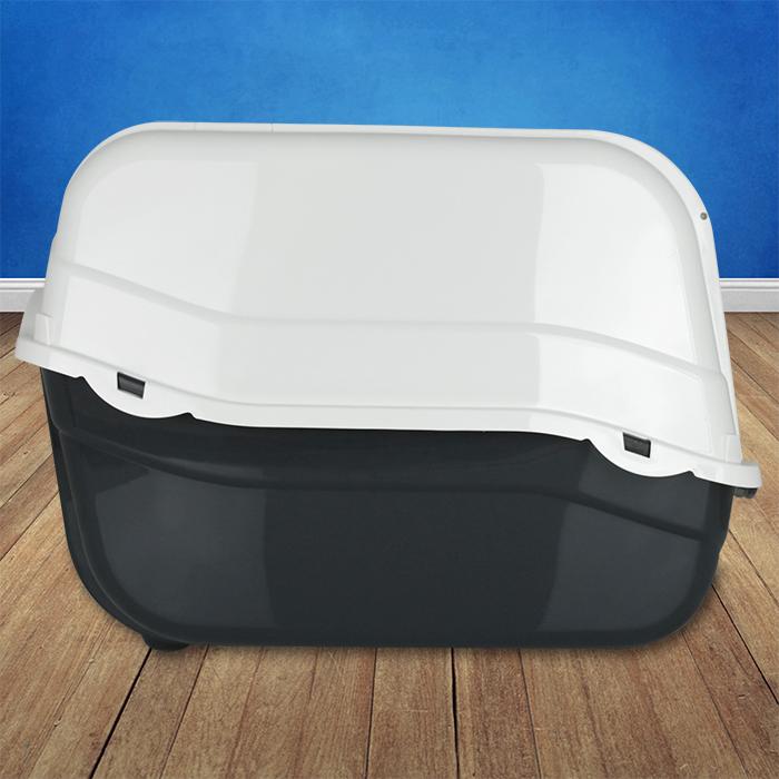 xl katzentoilette katzenklo haubentoilette toilette klo wc katze haube filter ebay. Black Bedroom Furniture Sets. Home Design Ideas