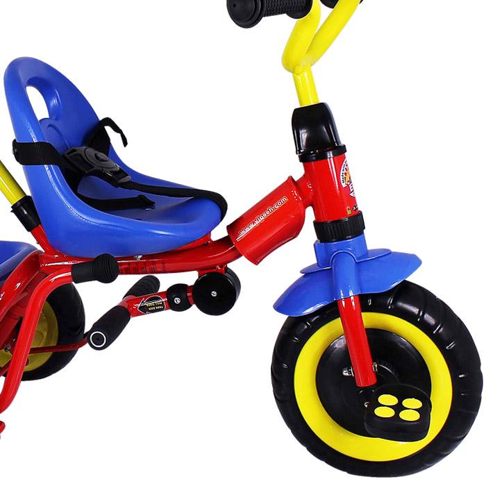 kinder dreirad mit lenkstange und ablage kinderdreirad. Black Bedroom Furniture Sets. Home Design Ideas