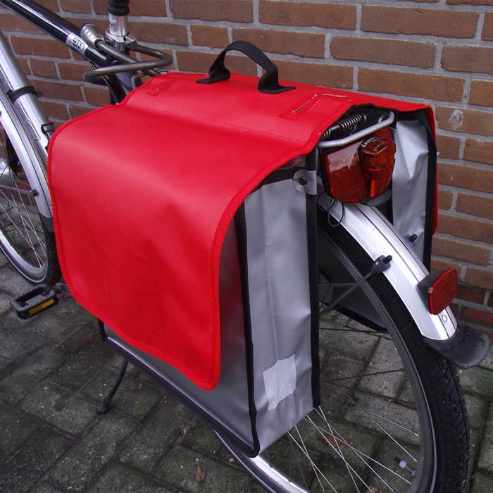 xl fahrrad doppeltasche lkw plane fahrradtasche. Black Bedroom Furniture Sets. Home Design Ideas
