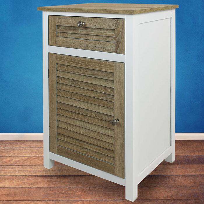 Schrank schublade kommode nachttisch regal bad badezimmer for Schrank zusammenbauen