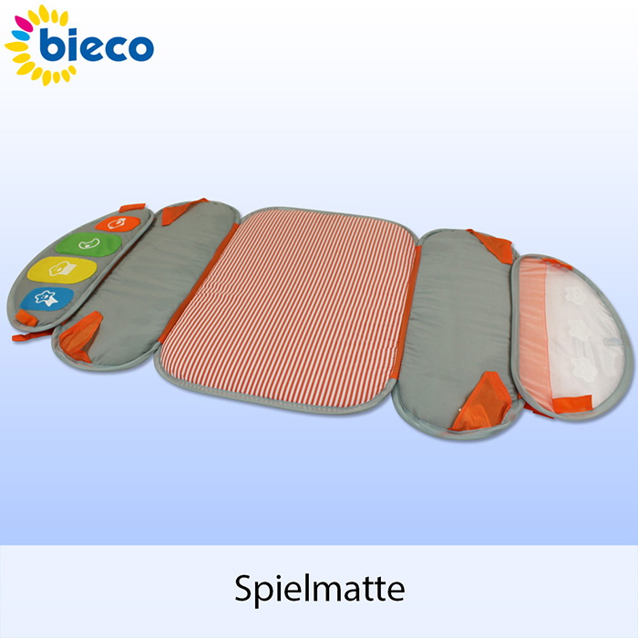 bieco baby spieldecke spielbogen krabbeldecke gym decke spielmatte strand zelt. Black Bedroom Furniture Sets. Home Design Ideas